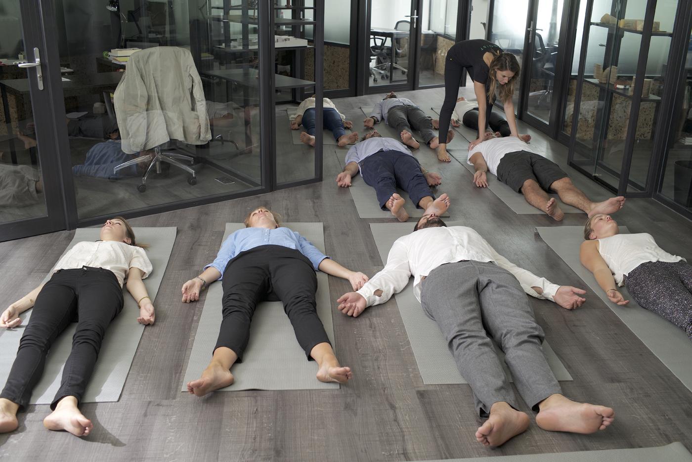 YOGIST yoga sur tapis